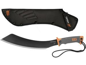 Silver Stainless Steel Bear Grylls Tactical Survival Parang