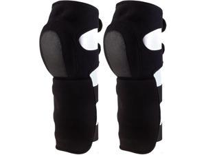 Black Military Synthetic Neoprene Shin Guards