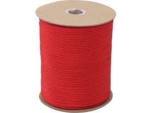 Red 550LB Nylon Paracord 1000 Feet Spool