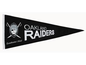 Winning Streak Sports Pennants 61221 Oakland Raiders Throwback