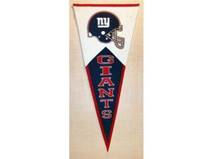 New York Giants Official NFL 40 inch  x 17 inch  Wool Classic Pennant by Winning Streak