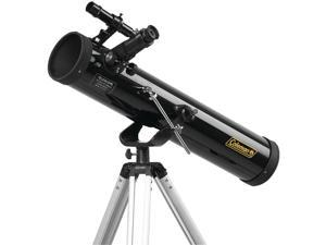 COLEMAN C767K AstroWatch D76mm x 700mm Reflector Telescope Kit with Carrying Case