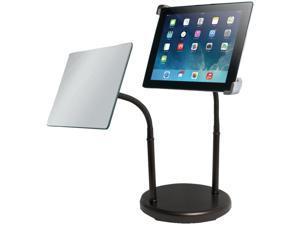 CTA DIGITAL PAD-GTSM Gooseneck Tabletop Stand with Makeup Mirror for iPad(R)
