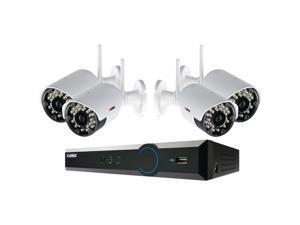 LOREX LH03045GC4W ECO Black Box 4-Channel Stratus DVR with 4 Wireless Cameras