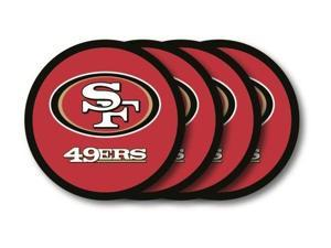 San Francisco 49ers Official NFL Coaster Set by Duck House 481258