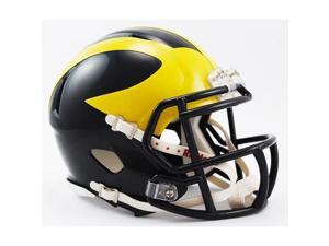 Michigan Wolverines Official NCAA Mini Helmet by Riddell 894317