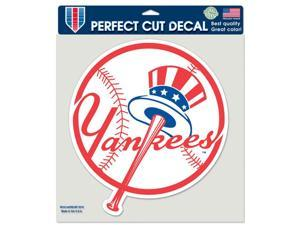 """New York Yankees Official MLB 8""""x8"""" Die Cut Car Decal by Wincraft"""