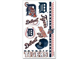 "Detroit Tigers Official MLB 4""x7"" Fake Tattoos by Wincraft"