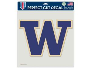 "Washington Huskies Official NCAA 8""x8"" Die Cut Car Decal by Wincraft"