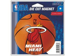 """Miami Heat Official NBA 4.5""""x6"""" Car Magnet by Wincraft"""