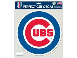 """Chicago Cubs Official MLB 8""""x8"""" Die Cut Car Decal by Wincraft"""