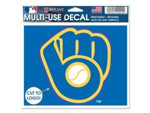 Milwaukee Brewers Official MLB Window Cling Decal by Wincraft