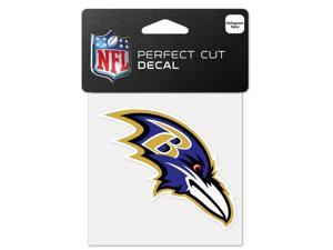 "Baltimore Ravens Official NFL 4""x4"" Die Cut Car Decal by Wincraft"