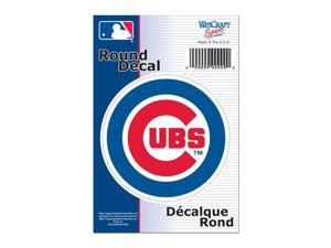 """Chicago Cubs Official MLB 3"""" Diameter Vinyl Car Decal by Wincraft"""