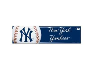 "New York Yankees Official MLB 12""x3"" Bumper Sticker by Wincraft"