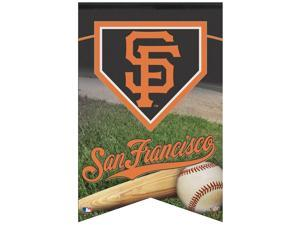 """San Francisco Giants Official MLB 17""""x26"""" Banner by Wincraft"""