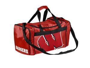 Wisconsin Badgers Official NCAA  Athletic Gym Duffle Bag by Forever Collectibles
