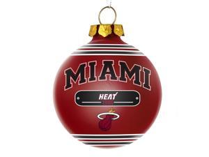 Miami Heat Official NBA  2014 Year Plaque Ball Ornament by Forever Collectibles