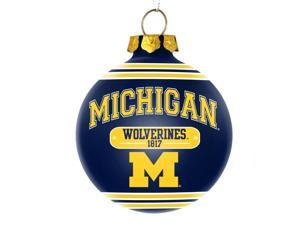 Michigan Wolverines Official NCAA  2014 Year Plaque Ball Ornament by Forever Collectibles