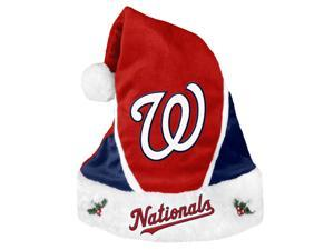 Washington Nationals Official MLB  Colorblock Christmas Santa Hat by Forever Collectibles