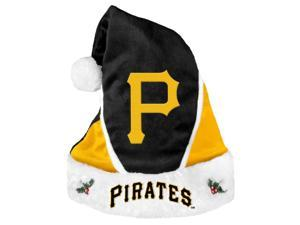 Pittsburgh Pirates Official MLB  Colorblock Christmas Santa Hat by Forever Collectibles
