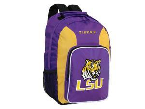 LSU Tigers Official NCAA  Southpaw Backpack by Concept One