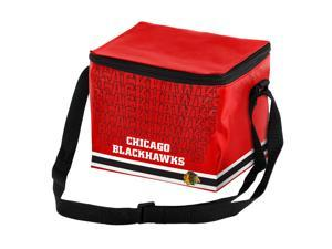 Chicago Blackhawks Official NHL  Insulated 6-Pack Cooler by Forever Collectibles