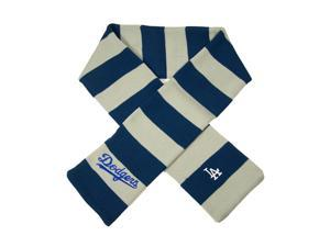 Los Angeles Dodgers Official MLB  Striped Rugby Scarf by Forever Collectibles