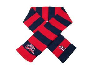 St. Louis Cardinals Official MLB  Striped Rugby Scarf by Forever Collectibles