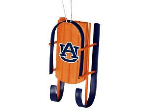 Auburn Tigers Official NCAA  Sled Christmas Ornament by Forever Collectibles