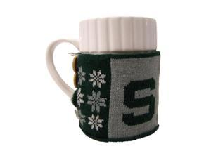 Michigan State Spartans Official NCAA  Ugly Sweater Christmas Mug by Forever Collectibles
