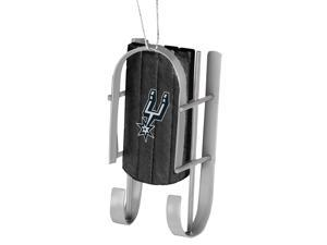San Antonio Spurs Official NBA  Sled Christmas Ornament by Forever Collectibles