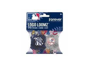 MLB New York Yankees Sports Fan Bracelets Logo Loomz Pack 367118