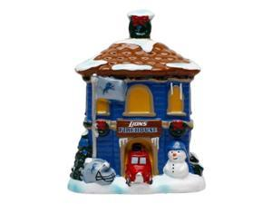 NFL Detroit Lions Holiday Village Firehouse 047447