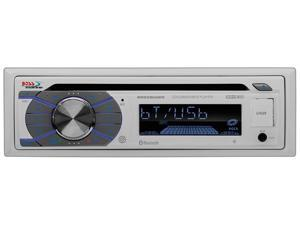 Boss Marine Single Din Receiver CD/MP3/USB/SD Front Aux Remote White MR508UABW