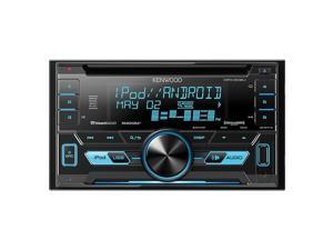 Kenwood Ddin CD Player w/USBSatRdySWIVar.Clr DPX302U