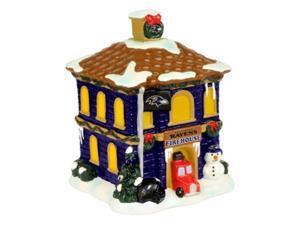 NFL Baltimore Ravens Holiday Village Firehouse 047362