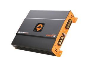 Quantum Qu2200.2 Ultra Series 2,200-Watt 2-Channel Class Ab Amp  12.29in. x 10.34in. x 3.71in.