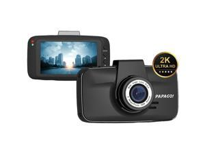 Papago Gs520-8g Gosafe 520 Ultrawide Hd 2k Resolution Dash Cam With 8gb Microsd(tm) Card  6.40in. x 5.90in. x 3.60in.