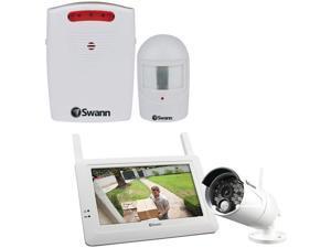 Swann Swadw-410kit-Us Wireless System And Swann Swhom-Drivea-Gl Driveway Alert  6.70in. x 3.80in. x 7.45in.