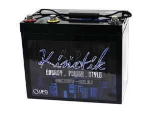 Kinetik 40930 Hc Blu Series Battery (hc16v, 1,600 Watts, 50 Amp-Hour Capacity, 16 Volts)  12.40in. x 11.70in. x 8.50in.
