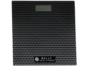 Bally Total Fitness Digital Bathroom Scale with Instant Step On Technology
