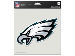 """Philadelphia Eagles Official NFL 8""""x8"""" Die Cut Car Decal by Wincraft"""