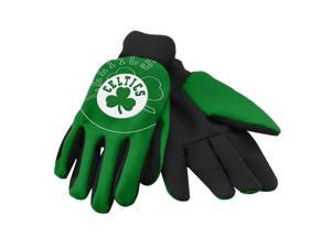 Boston Celtics Official NBA  Sport Utility Work Gloves by Forever Collectibles
