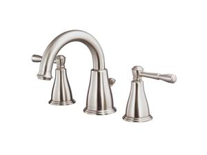 Danze D304015BN Eastham 8 in. Widespread 2-Handle Mid-Arc Bathroom Faucet in Bru