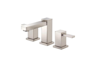 Danze D304033BN Reef 8 in. Widespread 2-Handle Low-Arc Bathroom Faucet in Brushe