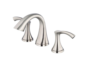 Danze D304022BN Antioch 8 in. Widespread 2-Handle Low-Arc Bathroom Faucet in Bru