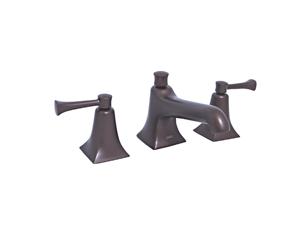 Jado 820003.105 Illume Old Bronze Widespread Bathroom Sink Faucet