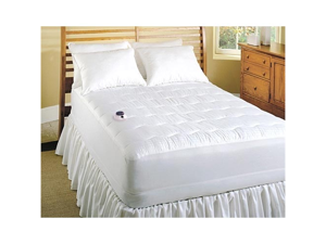Soft Heat 250TC Low Voltage Electric Heated Warming Mattress Pad Queen Size