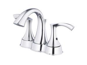 Danze D301022 Antioch Two Handle Lavatory Faucet, Chrome